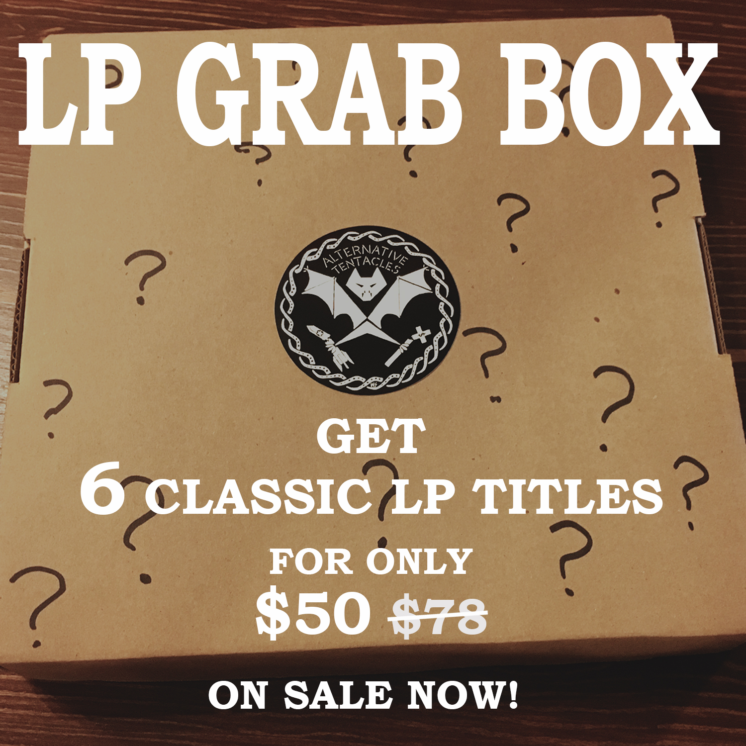 THE LP GRAB BOX SALE! – Alternative Tentacles Records